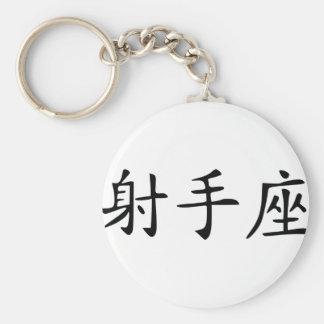 Sagitario - chino llavero personalizado