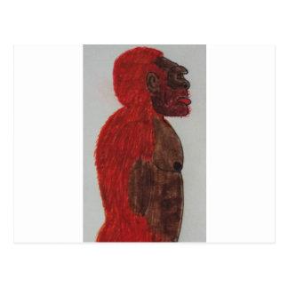 Sagittal giant man rf postcard