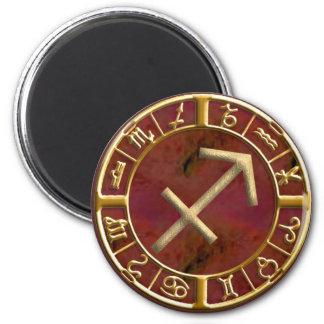Sagittarius 2 Inch Round Magnet