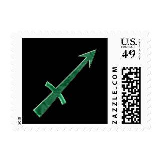 Sagittarius #3 postage stamp