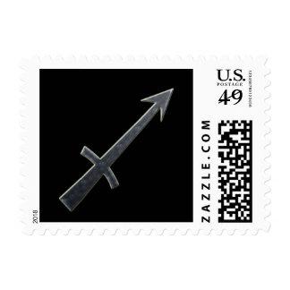 Sagittarius #4 postage
