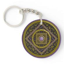 Sagittarius Acrylic Keychain