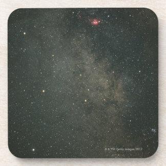 Sagittarius and Milky Way 2 Beverage Coaster