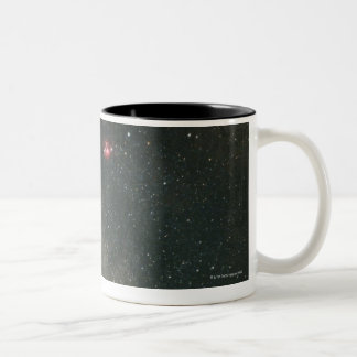 Sagittarius and Milky Way 2 Two-Tone Coffee Mug