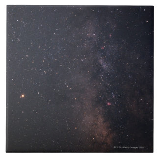 Sagittarius and Milky Way Ceramic Tile