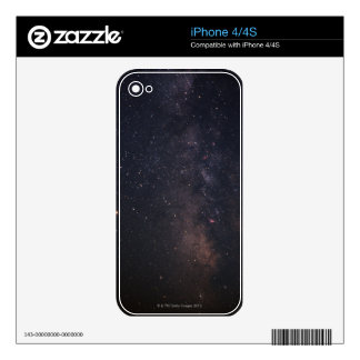 Sagittarius and Milky Way Skin For The iPhone 4S