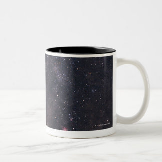 Sagittarius and Milky Way Two-Tone Coffee Mug