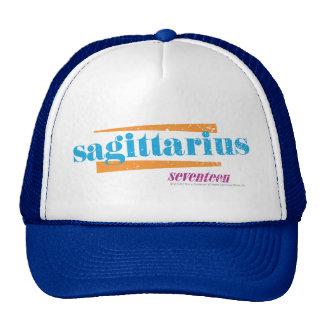 Sagittarius Aqua Trucker Hat