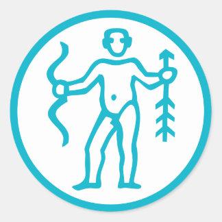 Sagittarius Archer Horoscope Zodiac Sign Stickers