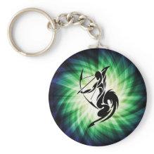 Sagittarius; Archer Keychain