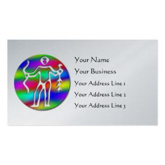 Sagittarius Archer Zodiac Platinum Bookmark Business Card