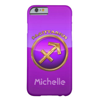 Sagittarius Astrological Sign Barely There iPhone 6 Case