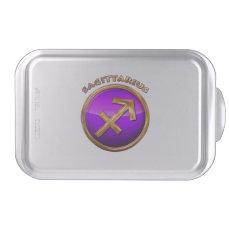 Sagittarius Astrological Sign Cake Pan