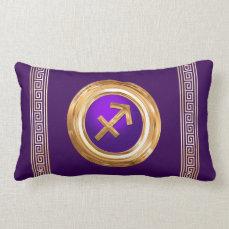 Sagittarius Astrological Sign Lumbar Pillow