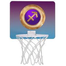 Sagittarius Astrological Sign Mini Basketball Hoop