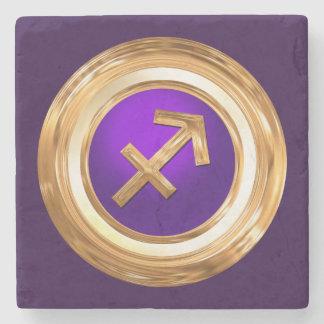 Sagittarius Astrological Sign Stone Coaster