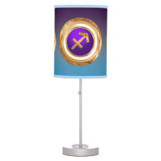 Sagittarius Astrological Sign Table Lamp