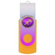 Sagittarius Astrological Sign USB Flash Drive