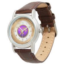 Sagittarius Astrological Symbol Wrist Watch
