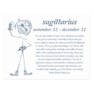 Sagittarius [ - BitchScope - ] Postcard
