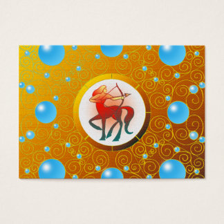 Sagittarius Business Card