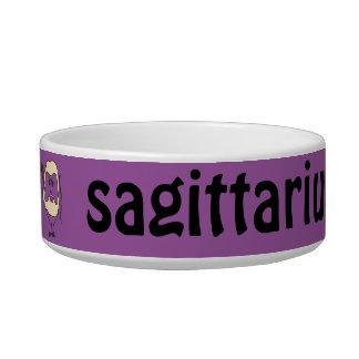 Sagittarius Cat Bowl