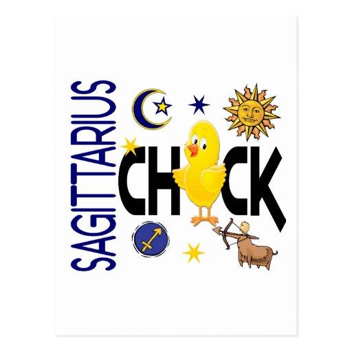 Sagittarius Chick 1 Postcard