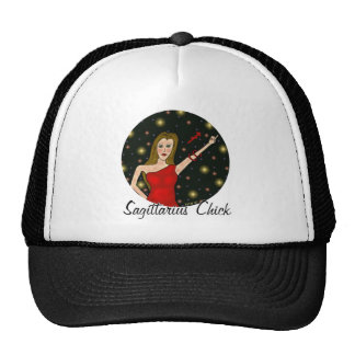 Sagittarius Chick Trucker Hat