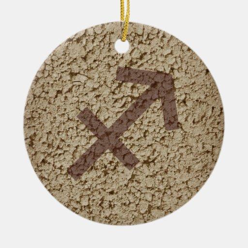 sagittarius christmas tree ornament