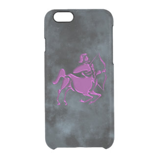 Sagittarius Clear iPhone 6/6S Case
