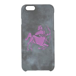 Sagittarius Clear iPhone 6/6S Case