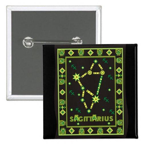 Sagittarius Constellation Pin
