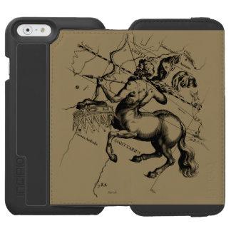 Sagittarius Constellation Hevelius1690 Nov22-Dec21 iPhone 6/6s Wallet Case