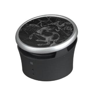 Sagittarius Constellation Map by Hevelius on Black Bluetooth Speaker
