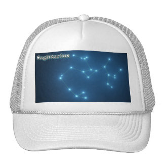Sagittarius constellation trucker hat