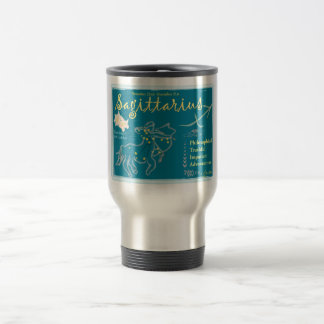 Sagittarius December Travel Mug