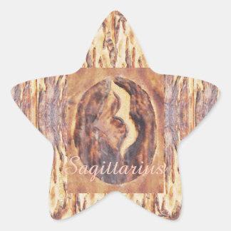 Sagittarius Greek Zodiac Primitive Astrology Star Stickers