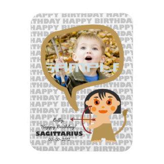 Sagittarius Happy Birthday Keepsake for kids Magnet