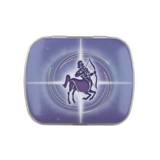 Sagittarius Horoscope Lavender HLRX Jelly Belly Candy Tins