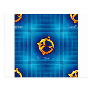 sagittarius horoscope postcard