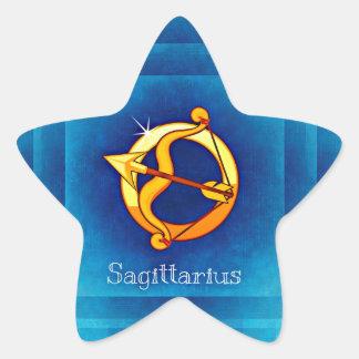 sagittarius horoscope star sticker