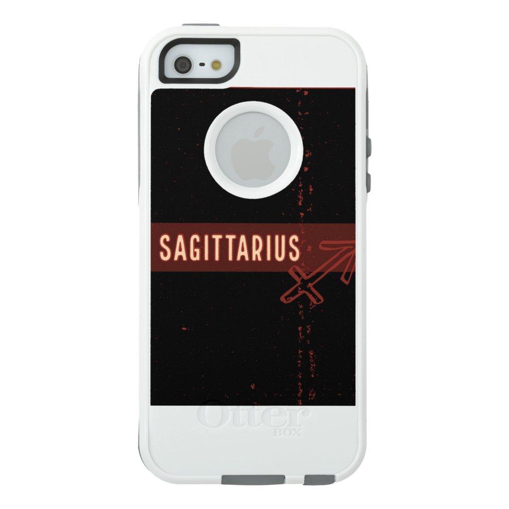 Sagittarius iPhone Case (white)