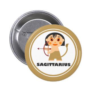 Sagittarius is my Zodiac Sign Pinback Button