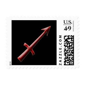 Sagittarius-keychain-2 Stamp