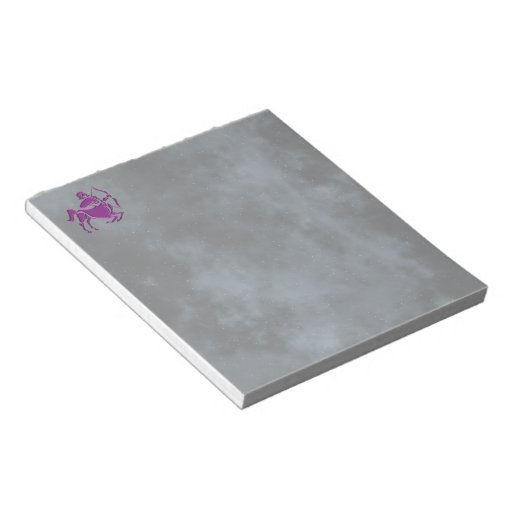 Sagittarius Memo Note Pad