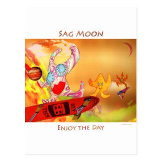 Sagittarius Moon Postcard
