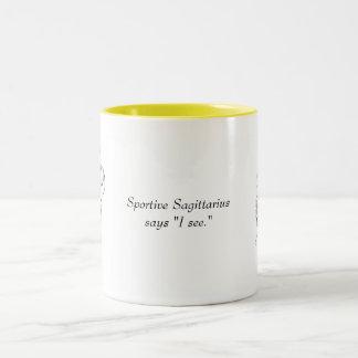 Sagittarius Mug with Saying