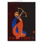 Sagittarius Note Card