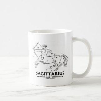 Sagittarius (November 22nd - December 21st) Classic White Coffee Mug