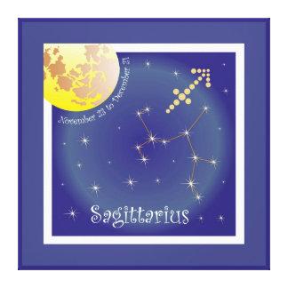 Sagittarius November 23 tons of December 21 canvas Canvas Prints